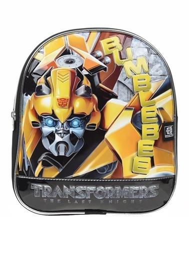 Transformers Okul Çantası Sarı